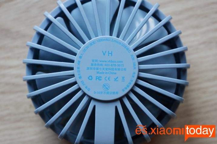 Xiaomi Youpin VH: Aspas