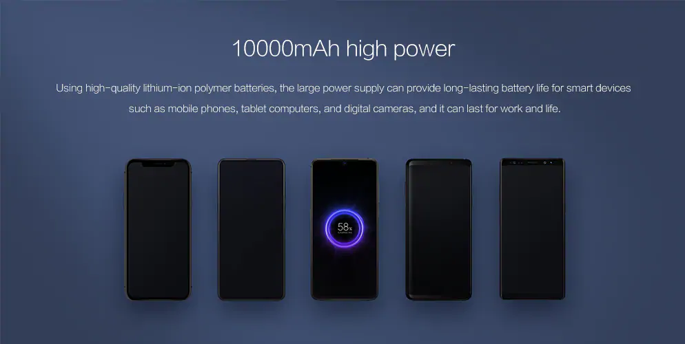 Xiaomi Wireless Power Bank: Funciones