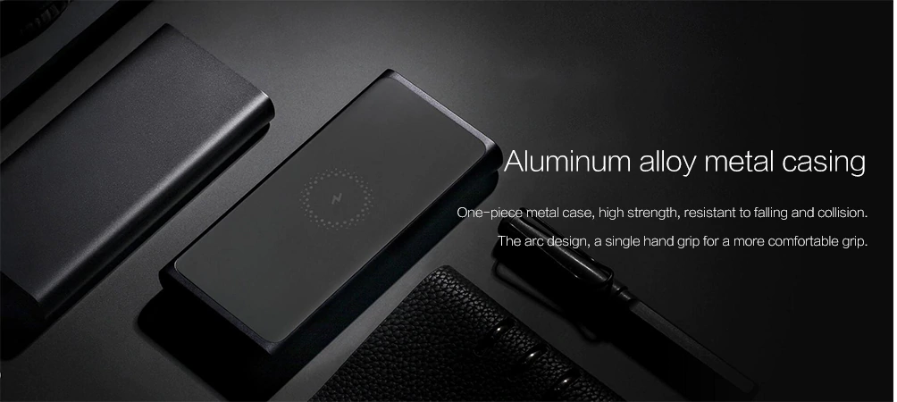 Xiaomi Wireless Power Bank: Diseño