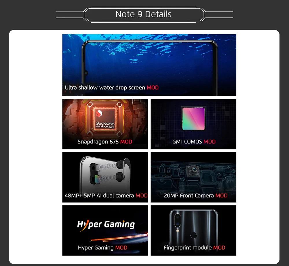 Meizu Note 9 pantalla