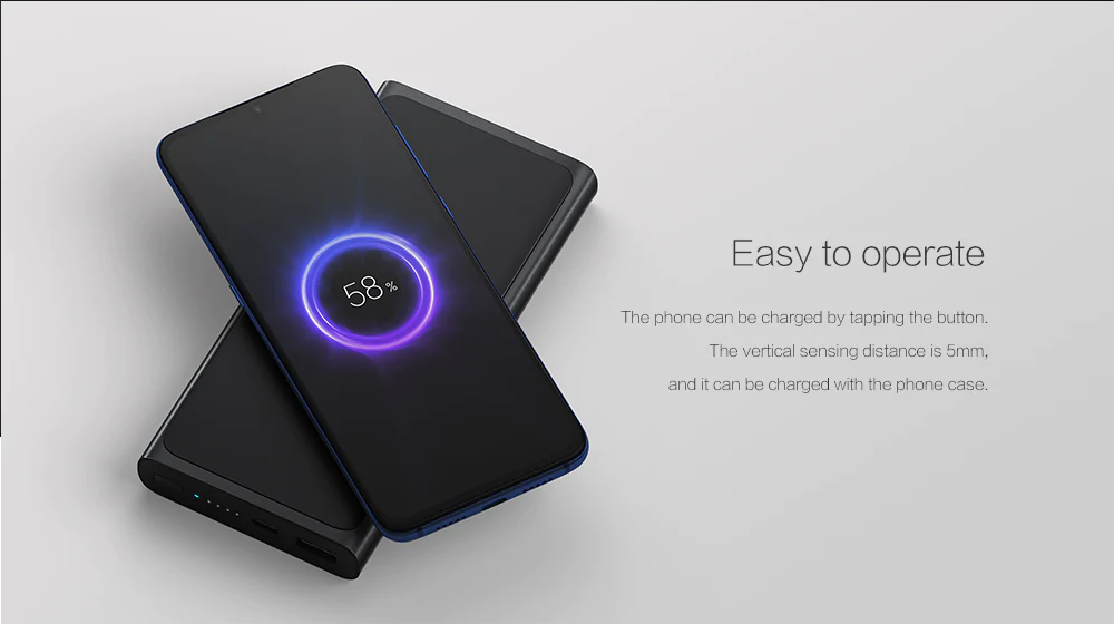 Xiaomi Wireless Power Bank: Modo de empleo