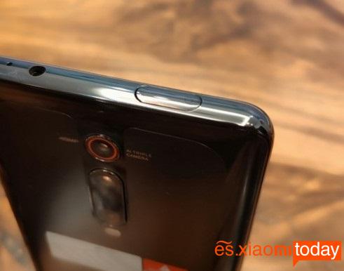 Xiaomi Mi 9Tdiseño cámara