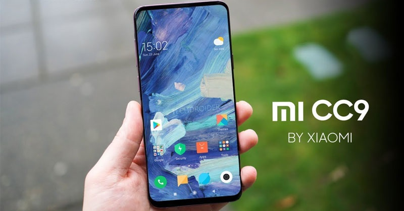 Xiaomi Mi CC9 diseño