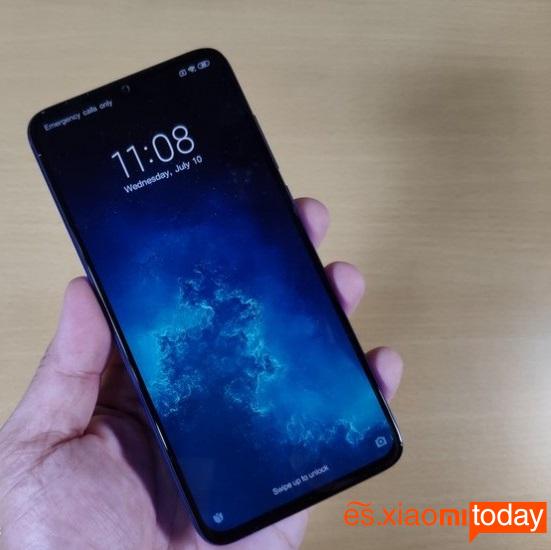 Xiaomi Mi CC9 frontal