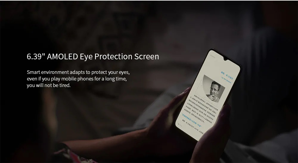 Xiaomi Mi CC9 pantalla