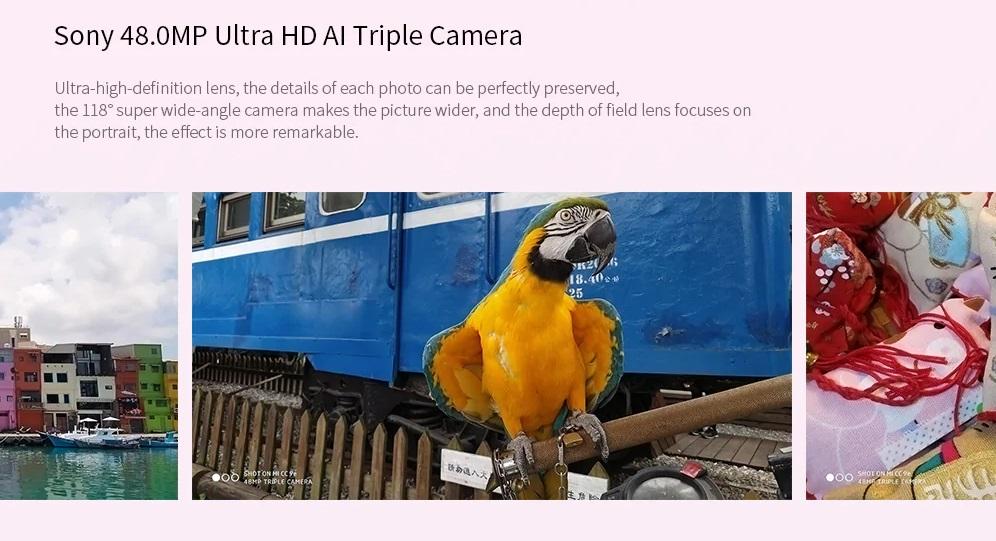 Xiaomi Mi CC9e cámara trasera