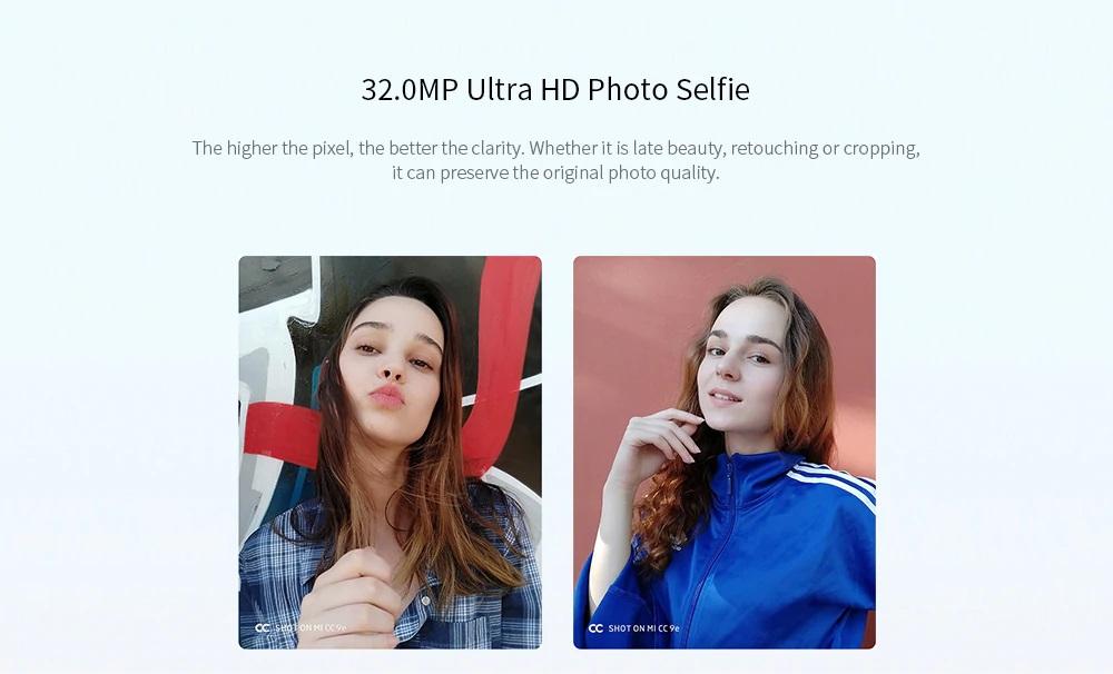 Xiaomi Mi CC9e cámara