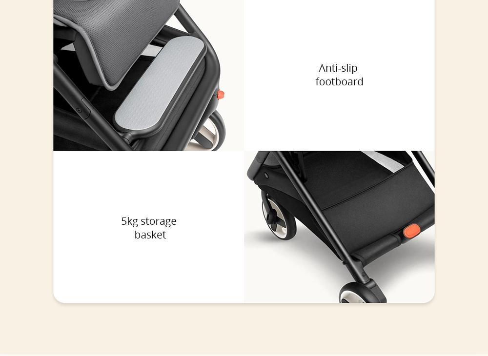 Xiaomi MiTU Folding Stroller: Características