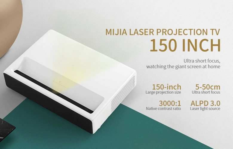 Xiaomi Mijia Laser Projector destacada