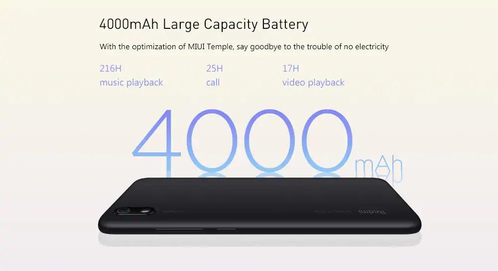 Xiaomi Redmi 7A batería