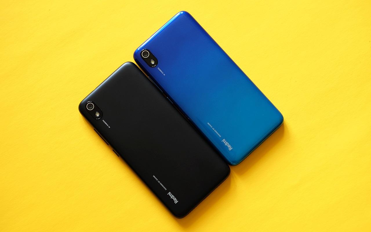 Xiaomi Redmi 7A diseño posterior