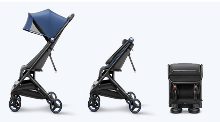Xiaomi MiTU Folding Stroller: Design and appearance