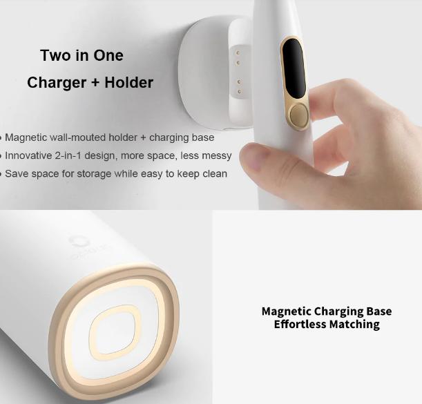 Xiaomi Oclean X Smart Sonic Toothbrush: Batería