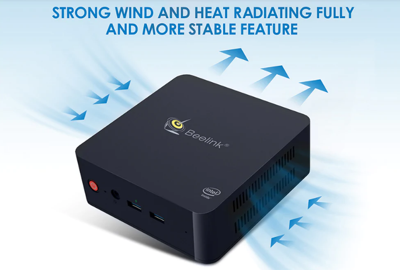 Beelink L55: Heat Dissipation System
