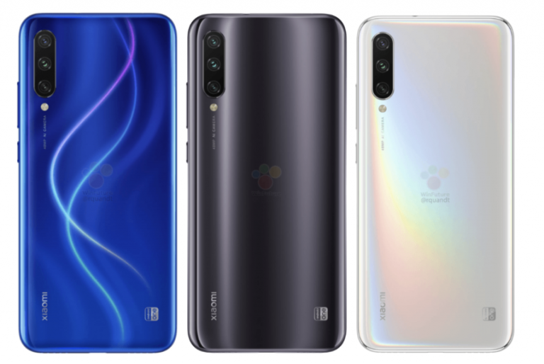 Nuevos renders del Xiaomi Mi A3 revelan su diseño