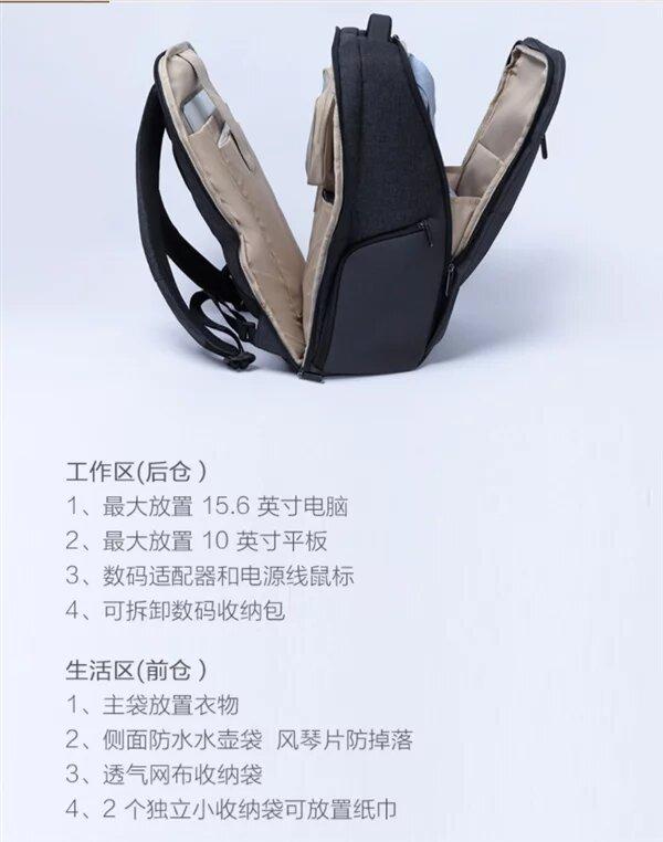 Así es la nueva Xiaomi Mi Business Casual Backpack 2