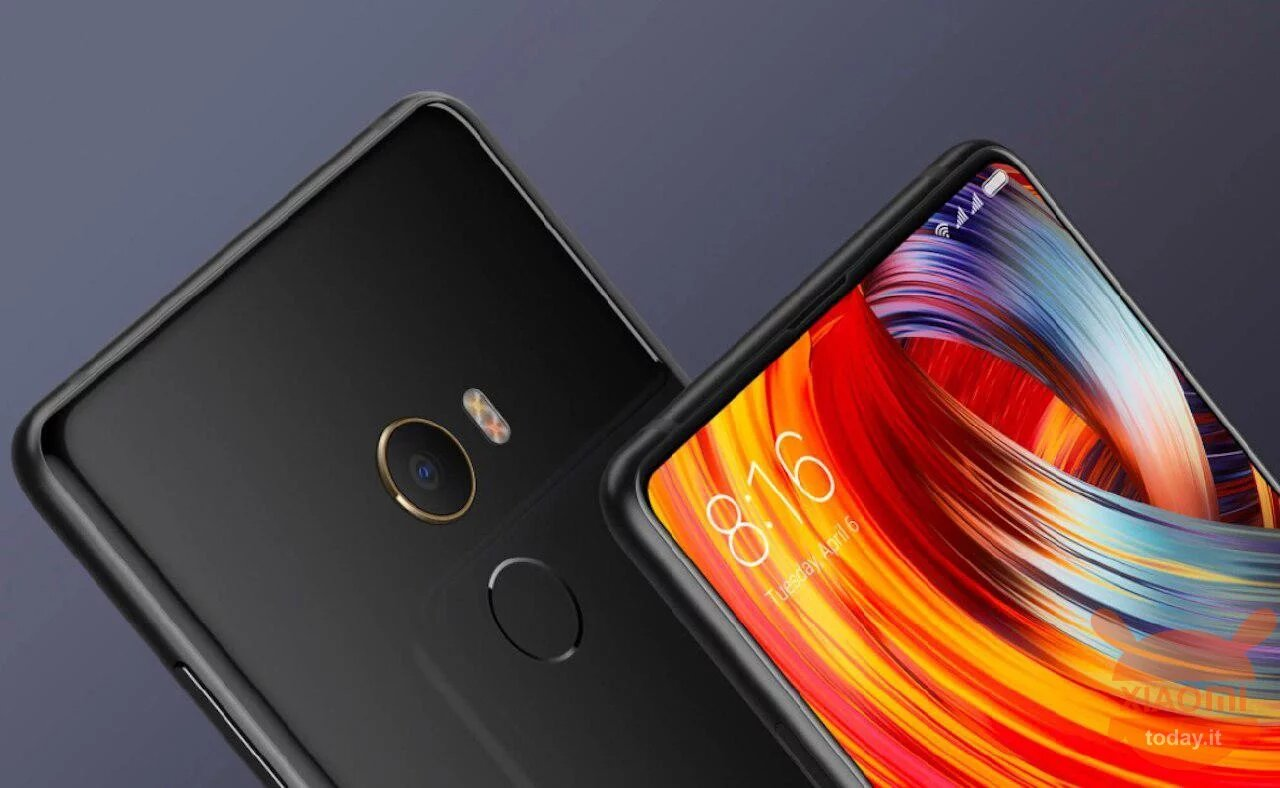 Versión estable de Android 9.0 Pie en el Xiaomi Mi MIX 2
