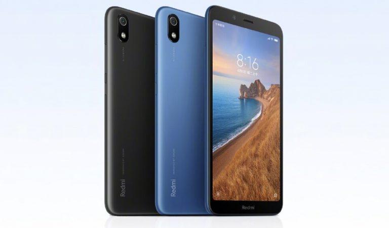 Especificaciones con las que vendrá el Xiaomi Redmi 7A