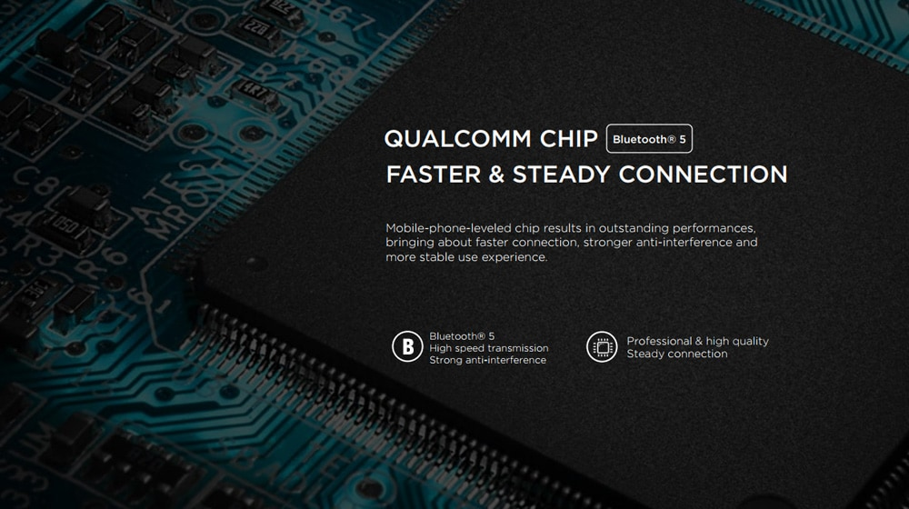 Chip de Qualcomm dentro de los 1MORE E1026BT