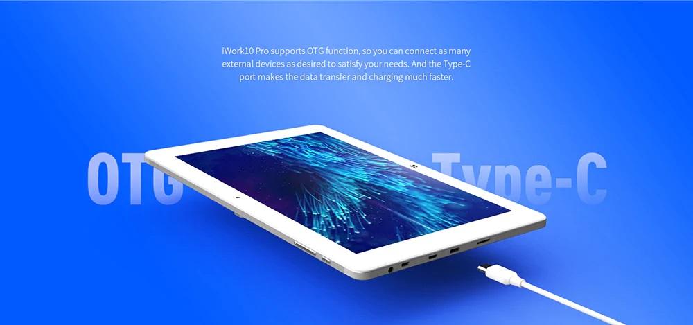 ALLDOCUBE iWork 10 Pro 2 in 1 Tablet PC HDMI