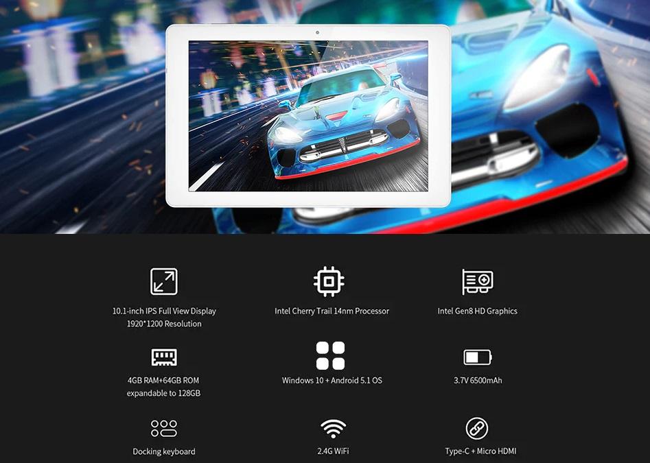 ALLDOCUBE iWork 10 Pro 2 in 1 Tablet PC intro