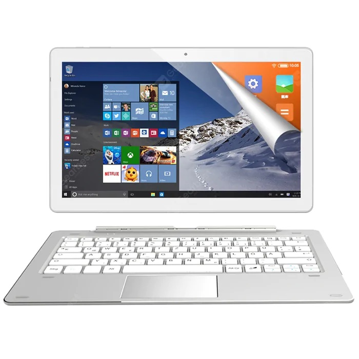 ALLDOCUBE iWork 10 Pro 2 in 1 Tablet PC pantalla