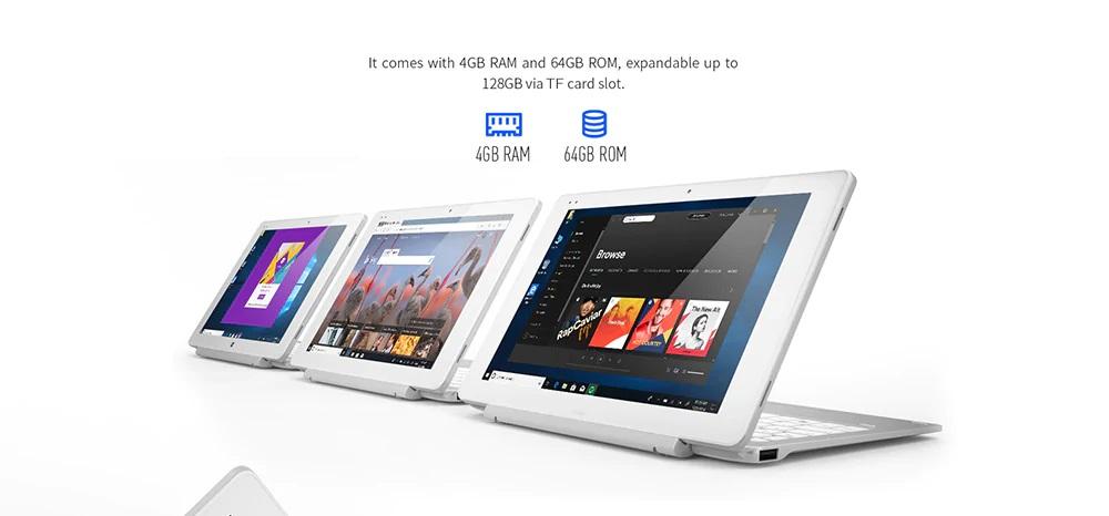 ALLDOCUBE iWork 10 Pro 2 in 1 Tablet PC ran
