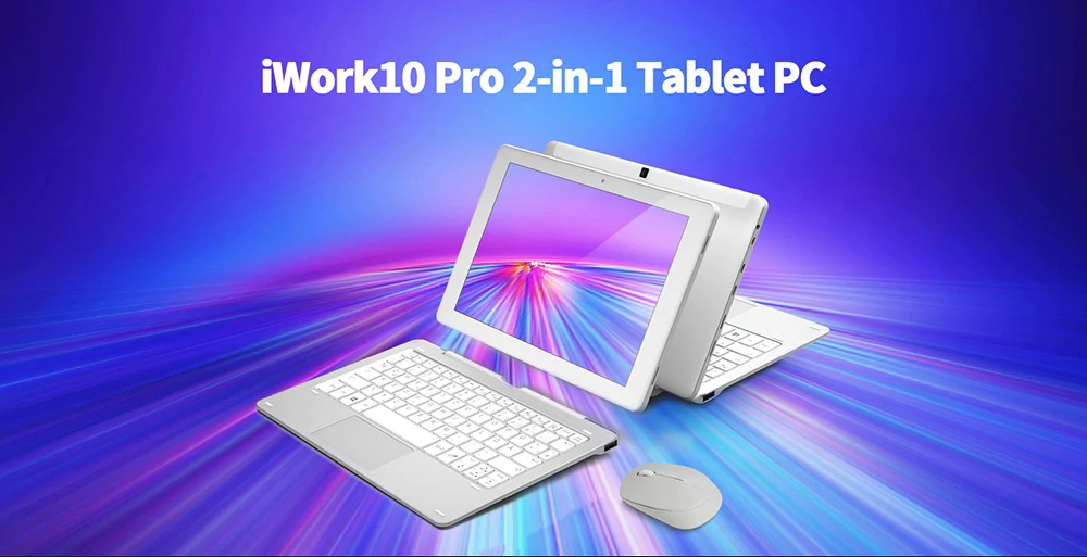 ALLDOCUBE iWork 10 Pro 2 in 1 Tablet PC