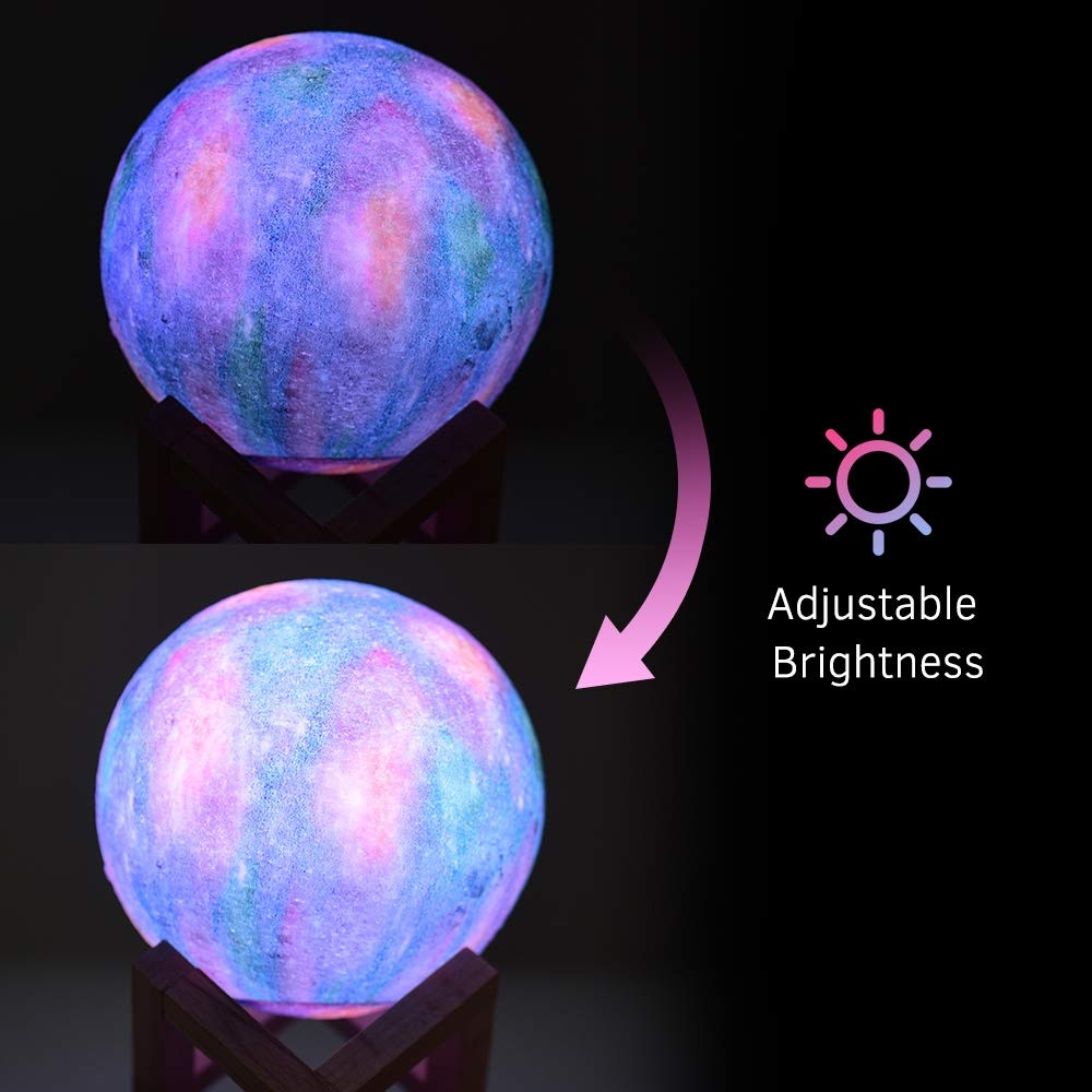 Aibecy LED Moon Lamp ajustes