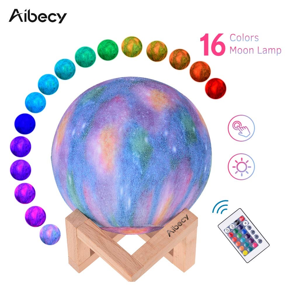 Aibecy LED Moon Lamp intro