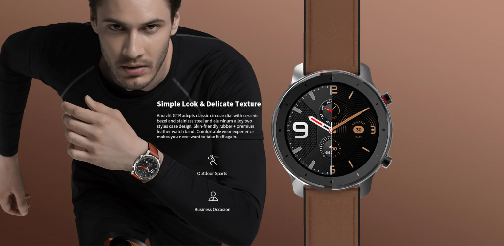 Amazfit GTR Smartwatch - Diseño