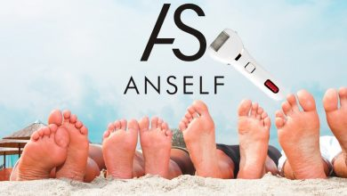 Anself Electric Foot Callus Removers Portable