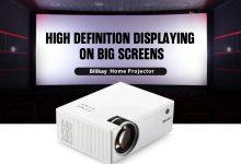 Bilikay A20 Home Smart Projector HD