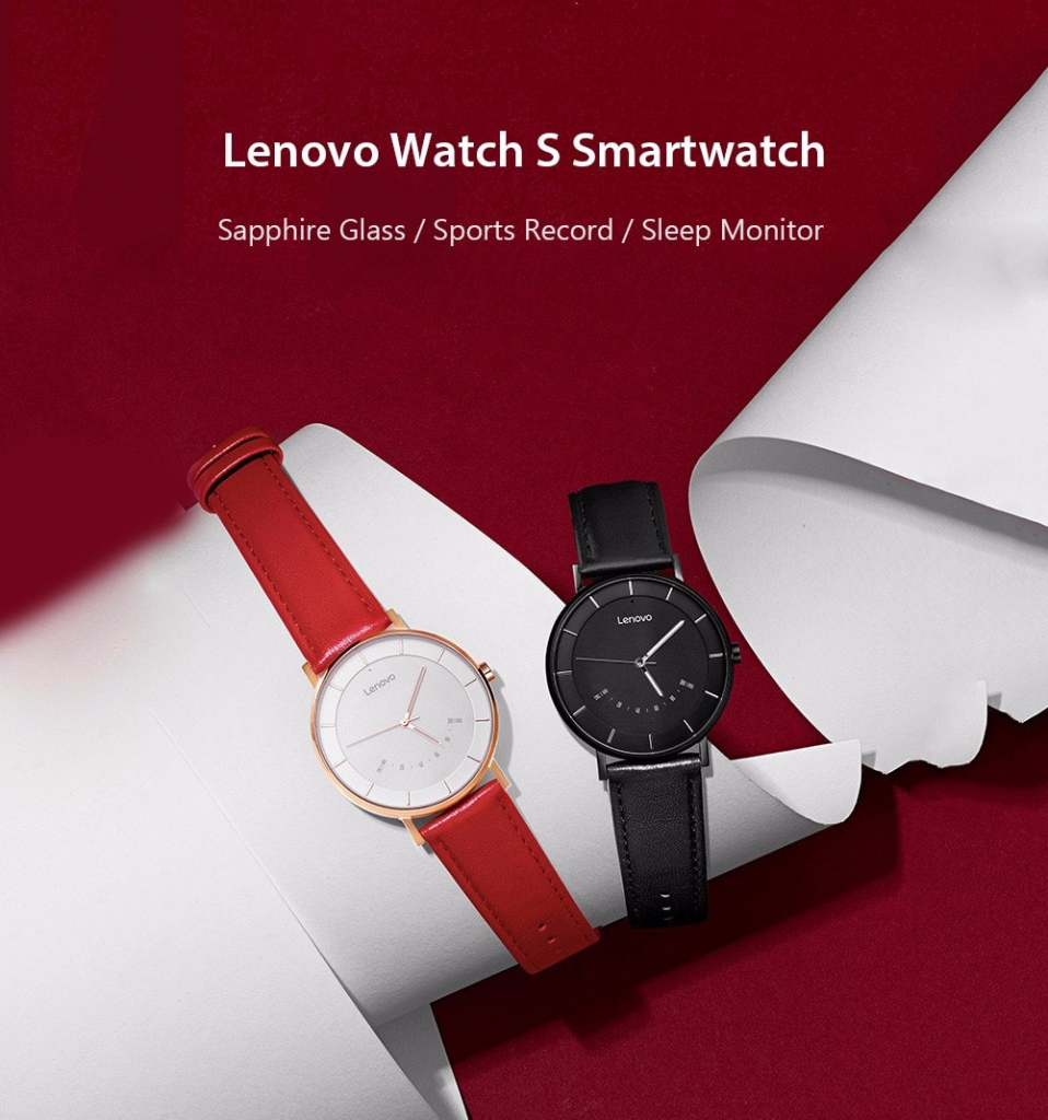 Lenovo Watch S Smartwatch Business Leisure Watch - Promoción de Gearbest