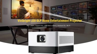 Vivibright J20 DLP Home Entertainment