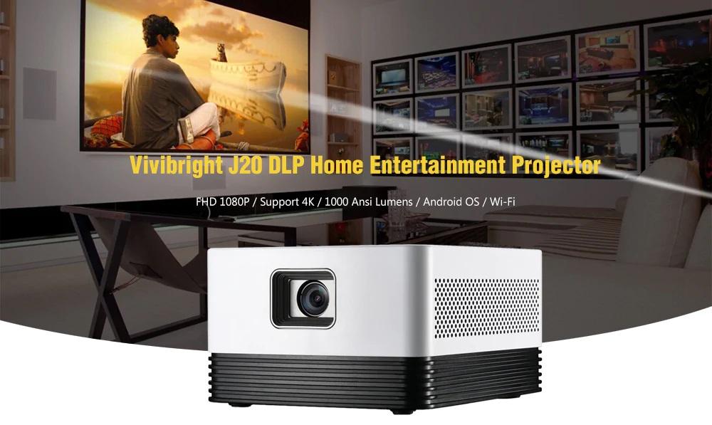 Vivibright J20 DLP Home Entertainment