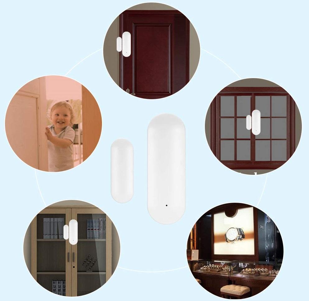 Wireless Door Window Sensor WiFi Smart Door carácter