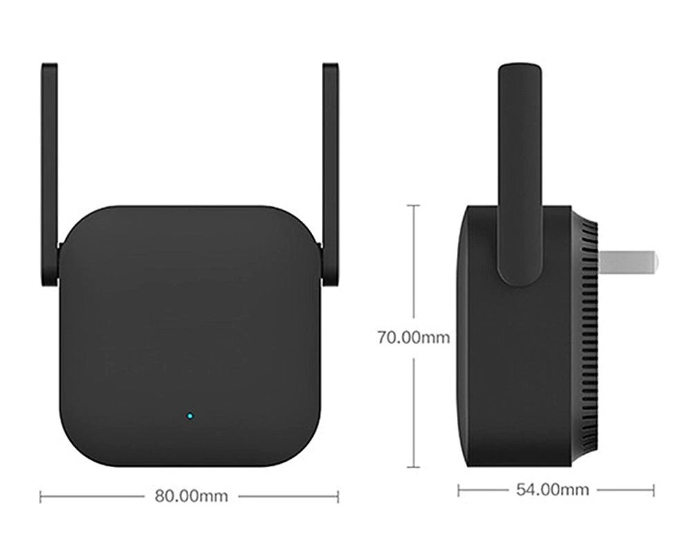 Xiaomi Mi WiFi Repeater Pro Extender 300Mbps diseño