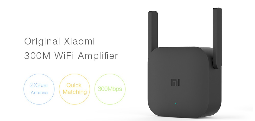 Xiaomi Mi WiFi Repeater Pro Extender 300Mbps intro