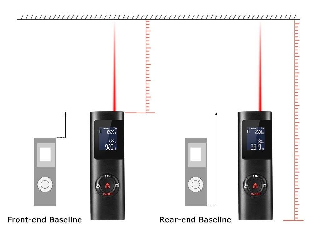 40M Smart Handheld Rangefinder Digital base