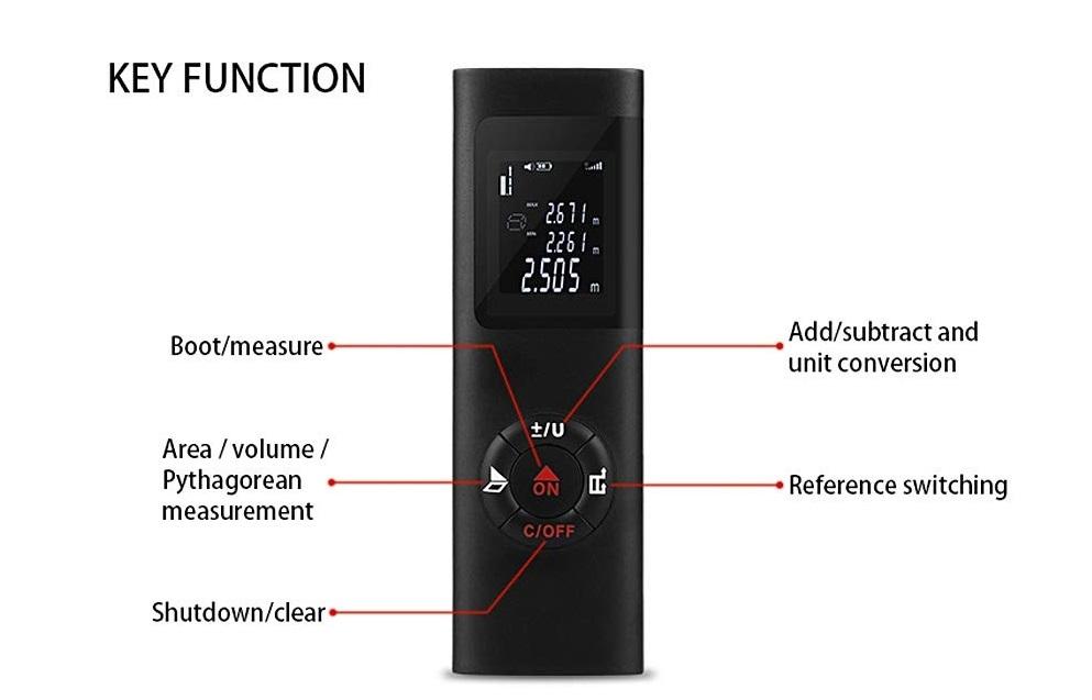 40M Smart Handheld Rangefinder Digital control