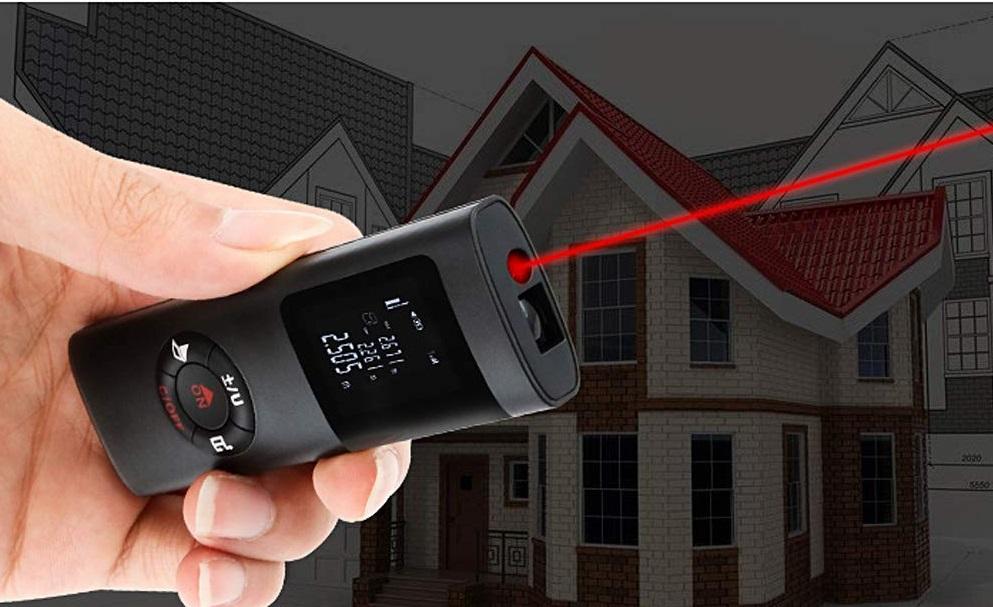 40M Smart Handheld Rangefinder Digital destacada