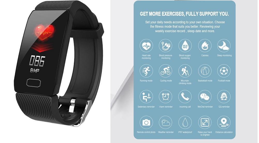 Explopur BT Smart Bracelet