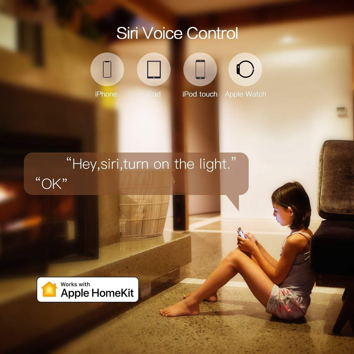 Koogeek Wi-Fi Smart Light Switc compatible