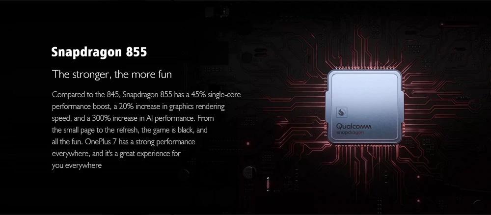OnePlus 7 procesador