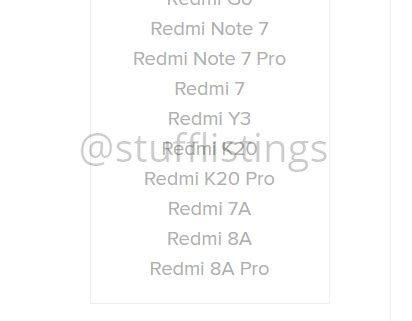 Redmi 8A Pro - Filtración