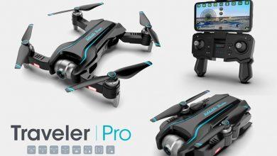 S17 Quadcopter plegable principal