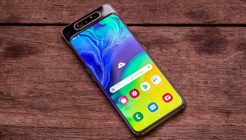 Samsung Galaxy A80 diseño cámara