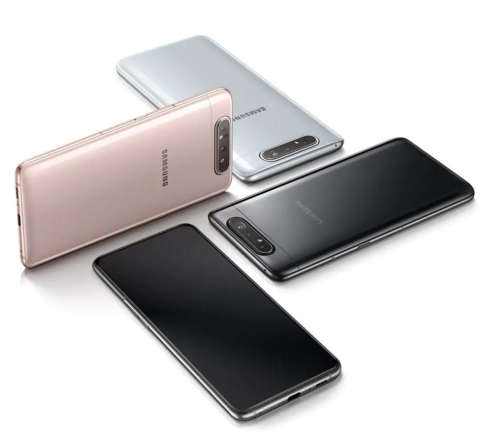 Samsung Galaxy A80 diseño
