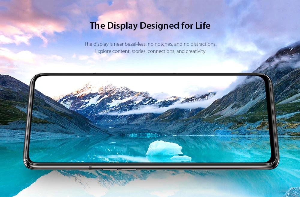 Samsung Galaxy A80 pantalla